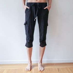 Juicy Couture Cropped Sweatpants